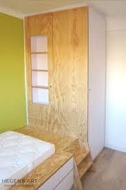 chambre enfant sur mesure aménagement chambre sur mesure tebopin pin maritime blanc lit