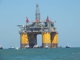 shell olympus offshore rig leaving jetties in port aransas tx