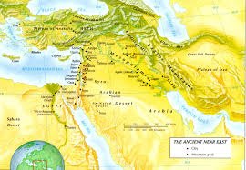 Ancient Middle East Map by The Ancient Near East And Journey From Egypt To Canaan