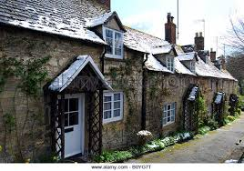 The Cotswolds Cottages by Cottages Winchcombe Gloucestershire In Cotswolds Stock Photos