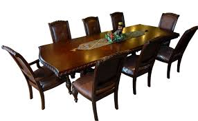11pc mahogany dining room set chippendale china buffet ebay image