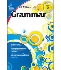 grammar workbook grade 5 carson dellosa publishing