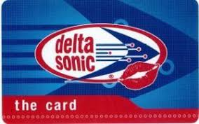 sonic gift cards gift card the card delta sonic united states of america car