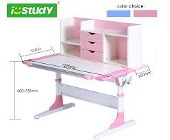 adjustable height kids table home furniture height adjustable children desk kids learning table