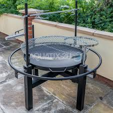 Fire Pit Rotisserie by Outdoor Charcoal Bbq Grill With Rotisserie Barbecue Spit Roast