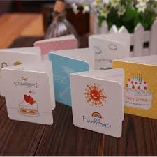 wholesale mini thank you cards greeting gift cards with