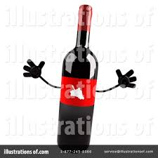 wine clipart wine bottle clipart 1112854 illustration by julos