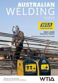 nissan casting australia dandenong australian welding q3 2015 by welding technology institute of
