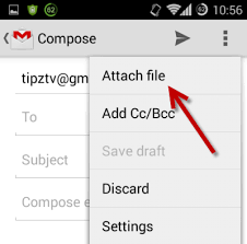 file for android gmail for android attach any file type to email