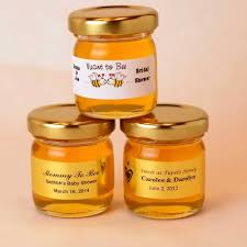 honey jar wedding favors mini honey jar wedding favor