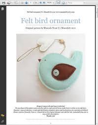 636 best felt birds and butterflies images on felt