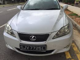 lexus is250 vietnam 2007 lexus is250 singapore u2013 other cars outram