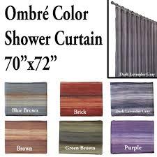 Multi Color Shower Curtains Unique Multi Color Ombre Shower Curtain Bathroom And More