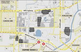 map usj 2 empire remix subang jaya property malaysia