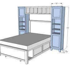 ana white plans a murphy bed you can build and afford to build