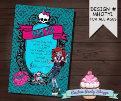 36 best sams bday ideas images on pinterest monster high party