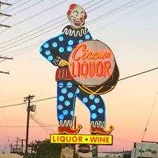 Liquor Signs Circus Liquor Sunset Jpg