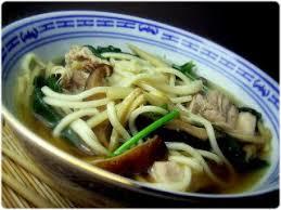 cuisine traditionnelle chinoise tasca da elvira soupe chinoise aux nouilles porc et légumes