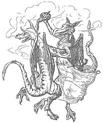 free dragon coloring pages funycoloring