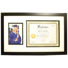 14x17 diploma frame black diploma frame with 2 openings hobby lobby 178285