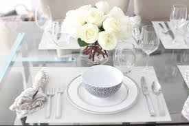 Elegant Table Settings A Wynter U0027s Guide To Hosting An Elegant Black And White