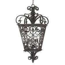 black outdoor pendant light quoizel fq1920mk01 4 light fort quinn extra large hanging outdoor