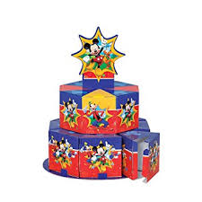 mickey mouse clubhouse centerpieces mickey mouse clubhouse favor box centerpiece