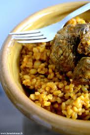cuisine tunisienne boulghour à l agneau borghol bel allouche