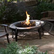 Patio With Firepit Fire Pits U0026 Tables Cyber Monday Deals Through 12 3