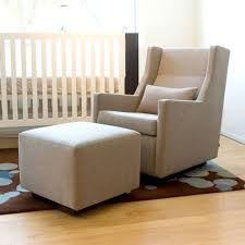 Upholstered Rocking Chairs Best Upholstered Glider For Nursery Thenurseries