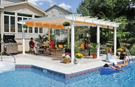 pergola marvelous gazebo placed at center part of outdoor