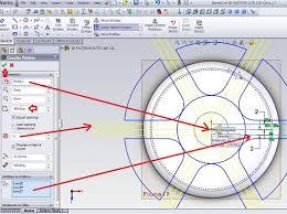 solidworks design simple tutorial creating a circular pattern sketch