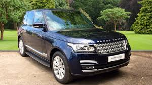 land rover voque used land rover range rover vogue se sdv8 blue fj14nxz