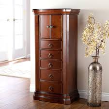 100 home decorators jewelry armoire free standing mirror