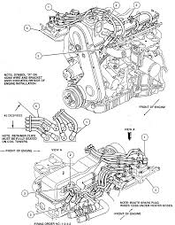 i need a schematic diagram showing how the spark plug wires on the