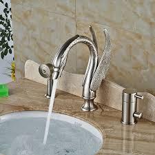 Swan Bathroom Faucet Swan Bathtub Faucet Promotion Shop For Promotional Swan Bathtub