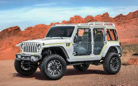 jeep crate jeep and mopar reveal 7 new off road concept vehicles previews