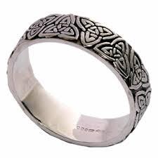 scottish wedding rings celtic wedding ring in white gold