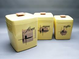 28 yellow canister sets kitchen vintage set of 4 kromex yellow canister sets kitchen kitchen canisters set pastel yellow storage by