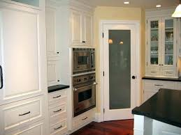 White Kitchen Cabinets With Glass Doors Corner Kitchen Cabinet Upandstunning Club