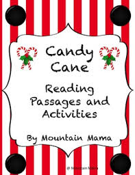 legend of the candy candy reading passages and activities with bible verses for