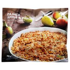 apple pear crumble pajmix äpple päron apple pear crumble frozen ikea