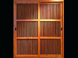 Closet Door Coverings Closet Wooden Closet Door Furniture Bamboo Closet Doors Closet