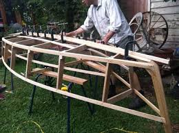 building a wooden boat 12 steps with pictures