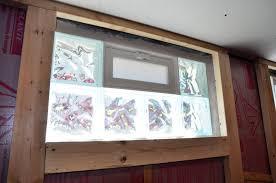 Glass Block For Basement Windows by Fromthefieryfurnace Basement Reno Window Transformation