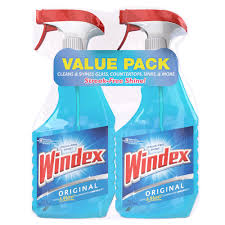 windex 26 oz glass cleaner twin pack 70463 the home depot