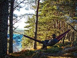 winter camping keeping warm in your hammock