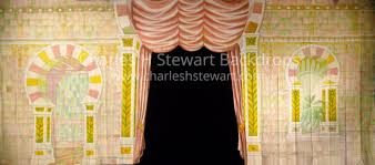 Palace Interior by Oriental Palace Interior Cut Backdrop Backdrops By Charles H