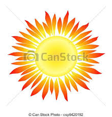 sun with like rays illustration of a sun with clip