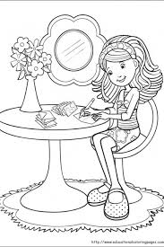 fun kids coloring pages 66 best coloring pages groovy girls images on pinterest